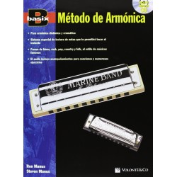 MANUS - Basix Metodo de Armonica + CD - Ed. Volonte  Co (2011) Foto: C:QuerryFotos WebMANUS - Basix Metodo de Armonica + CD - Ed