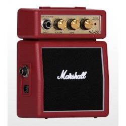 Amplificador MARSHALL Mini MS-2R Foto: C:QuerryFotos WebAmplificador MARSHALL Mini MS-2R-2