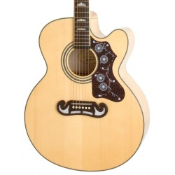 Guitarra Acustica EPIPHONE EJ-200SCE Vintage Natural Foto: C:QuerryFotos WebGuitarra Acustica EPIPHONE EJ-200SCE Vintage Natural