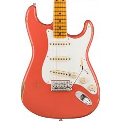 Guitarra Electrica FENDER Custom Shop 1956 Stratocaster Relic Faded Aged Tahitian Coral MN Foto: C:QuerryFotos WebGuitarra Elect