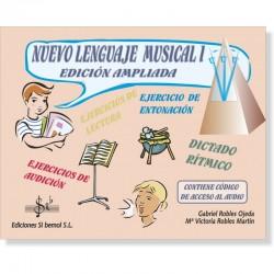Nuevo Lenguaje Musical I (audio en APP) - Ediciones Si Bemol Foto: C:QuerryFotos WebNuevo Lenguaje Musical I (audio en APP) - Ed