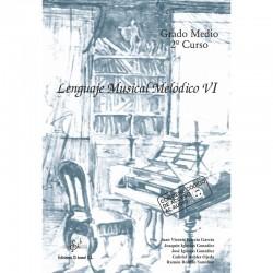 Lenguaje Musical Melodico VI (audio en APP) - Ediciones Si Bemol Foto: C:QuerryFotos WebLenguaje Musical Melodico VI (audio en A
