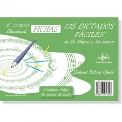 125 Dictados Faciles (audio en APP) 3º Grado Elemental - Ediciones Si Bemol Foto: C:QuerryFotos Web125 Dictados Faciles (audio e