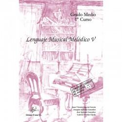 Lenguaje Musical Melodico V (audio en APP) - Ediciones Si Bemol Foto: C:QuerryFotos WebLenguaje Musical Melodico V (audio en APP