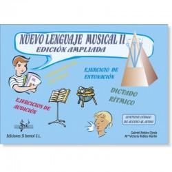 Nuevo Lenguaje Musical II (audio en APP) - Ediciones Si Bemol Foto: C:QuerryFotos WebNuevo Lenguaje Musical II (audio en APP) -