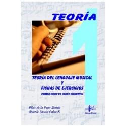 Teoria del Lenguaje Musical y Fichas de Ejercicios (Curso 1º) - Ediciones Si Bemol Foto: C:QuerryFotos WebTeoria del Lenguaje Mu