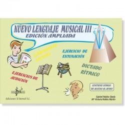 Nuevo Lenguaje Musical III (audio en APP) - Ediciones Si Bemol Foto: C:QuerryFotos WebNuevo Lenguaje Musical III (audio en APP)