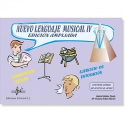 Nuevo Lenguaje Musical IV (audio en APP) - Ediciones Si Bemol Foto: C:QuerryFotos WebNuevo Lenguaje Musical IV (audio en APP) -
