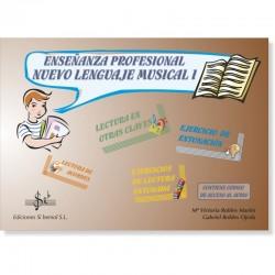 Enseñanza Profesional Nuevo Lenguaje Musical I (audio en APP) - Ediciones Si Bemol Foto: C:QuerryFotos WebEnseñanza Profesional