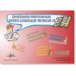 Enseñanza Profesional Nuevo Lenguaje Musical II (audio en APP) - Ediciones Si Bemol Foto: C:QuerryFotos WebEnseñanza Profesional
