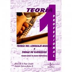 Teoria del Lenguaje Musical y Fichas de Ejercicios (Curso 1º Profesional) - Ediciones Si Bemol Foto: C:QuerryFotos WebTeoria del