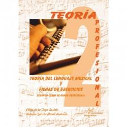 Teoria del Lenguaje Musical y Fichas de Ejercicios (Curso 2º Profesional) - Ediciones Si Bemol Foto: C:QuerryFotos WebTeoria del