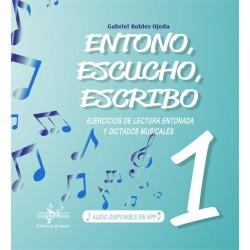 Entono, Escucho y Escribo 1 - Ediciones Si Bemol Foto: C:QuerryFotos WebEntono Escucho Escribo 1 - Ediciones Si Bemol