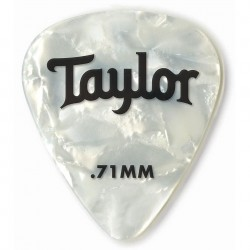 Pack puas TAYLOR 351 Celluloid White Pearl .71mm (12 Unidades) Foto: C:QuerryFotos WebPack puas TAYLOR 351 Celluloid White Pearl