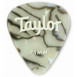 Pack puas TAYLOR 351 Celluloid Abalone .71mm (12 Unidades) Foto: C:QuerryFotos WebPack puas TAYLOR 351 Celluloid Abalone
