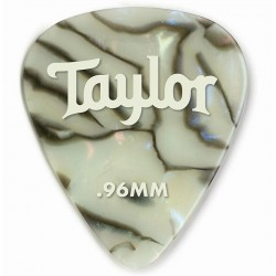 Pack puas TAYLOR 351 Celluloid Abalone .96mm (12 Unidades) Foto: C:QuerryFotos WebPack puas TAYLOR 351 Celluloid Abalone