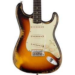 Guitarra Electrica FENDER Custom Shop 1960 Stratocaster Heavy Relic Faded Aged 3-Color Sunburst RW Foto: C:QuerryFotos WebGuitar