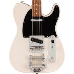 Guitarra Electrica FENDER Vintera 60s Telecaster Bigsby White Blonde PF Foto: C:QuerryFotos WebGuitarra Electrica FENDER Vintera