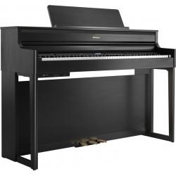 Piano Digital ROLAND HP704-CH Charcoal Black Foto: C:QuerryFotos WebPiano Digital ROLAND HP704-CH Charcoal Black