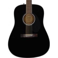 Guitarra Acustica FENDER CD-60S Black WN Foto: C:QuerryFotos WebGuitarra Acustica FENDER CD-60S Black WN