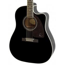Guitarra Acustica EPIPHONE AJ-220SCE Ebony Foto: C:QuerryFotos WebGuitarra Acustica EPIPHONE AJ-220SCE Ebony