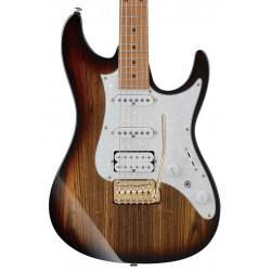 Guitarra Electrica IBANEZ Premium AZ224BCG-DET Deep Espresso Burst Foto: C:QuerryFotos WebGuitarra Electrica IBANEZ Premium AZ22
