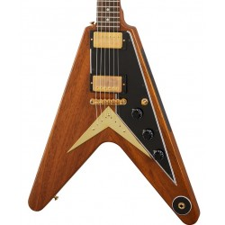 Guitarra Electrica GIBSON 1958 Mahogany Flying V Reissue VOS Walnut Foto: C:QuerryFotos WebGuitarra Electrica GIBSON 1958 Mahoga