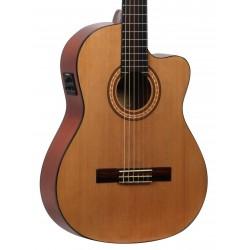 Guitarra Flamenca MOLINA CGFLC-EQ Cutaway Electrificada Foto: C:QuerryFotos WebGuitarra Flamenca MOLINA CGFLC-EQ Cutaway Electri