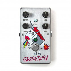 Pedal MXR DD25 Green Day Dookie Drive Limited V3 Foto: C:QuerryFotos WebPedal MXR DD25 Green Day Dookie Drive Limited V3