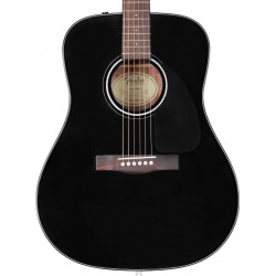 Guitarra Acustica FENDER CD-60 V3 Black con estuche