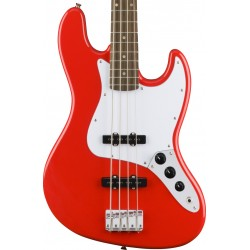 Bajo SQUIER Affinity Jazz Bass LRL Red Racing Red Foto: C:QuerryFotos WebBajo SQUIER Affinity Jazz Bass LRL Red Racing Red