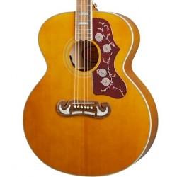 Guitarra Acustica EPIPHONE J-200 Aged Natural Antique Gloss Foto: C:QuerryFotos WebGuitarra Acustica EPIPHONE J-200 Aged Natural