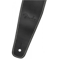 Correa FENDER Broken-In Leather Strap Black 2.5 Foto: C:QuerryFotos WebCorrea FENDER Broken-In Leather Strap Black 2