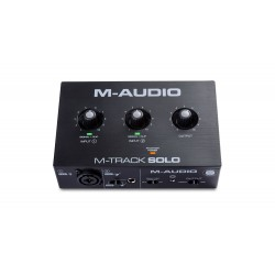 Interface Audio M-AUDIO M-Track Solo Foto: C:QuerryFotos WebInterface Audio M-AUDIO M-Track Solo
