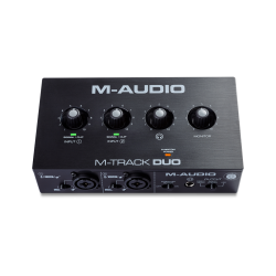 Interface Audio M-AUDIO M-Track Duo Foto: C:QuerryFotos WebInterface Audio M-AUDIO M-Track Duo