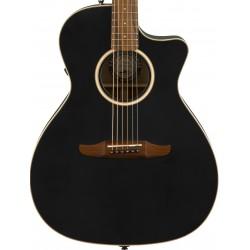 Guitarra Acustica FENDER Newporter Special Matte Black Foto: C:QuerryFotos WebGuitarra Acustica FENDER Newporter Special Matte B