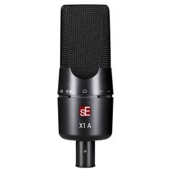 Microfono SE ELECTRONICS X1A Estudio Condensador Foto: C:QuerryFotos WebMicrofono SE ELECTRONICS X1A Estudio Condensador-1