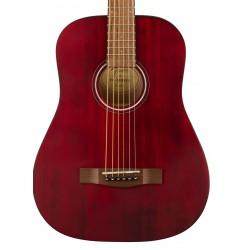 Guitarra Acustica FENDER FA 15  WN Red Foto: C:QuerryFotos WebGuitarra Acustica FENDER FA 15  WN Red