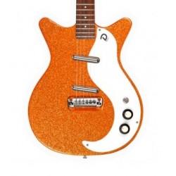 Guitarra DANELECTRO 59M NOS+ Orange MetalFlake Foto: C:QuerryFotos WebGuitarra DANELECTRO 59M NOS+ Orange MetalFlake