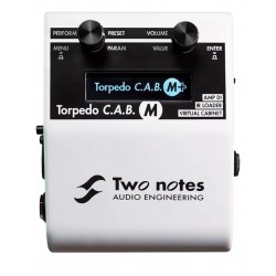 Pedal TWO NOTES Torpedo M+ Simulador de Altavoces Foto: C:QuerryFotos WebPedal TWO NOTES Torpedo M+ Simulador de Altavoces