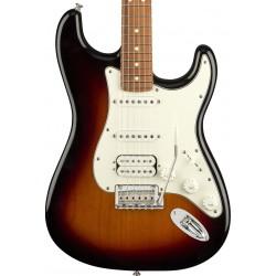 Guitarra Electrica FENDER Player Stratocaster HSS 3-Color Sunburst PF  Foto: C:QuerryFotos WebGuitarra Electrica FENDER Player S