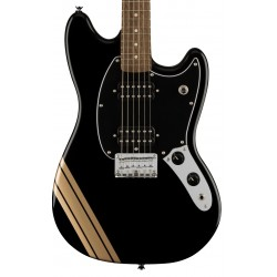 Guitarra Electrica SQUIER FSR Bullet Competition Mustang HH LRL BPG Black Foto: C:QuerryFotos WebGuitarra Electrica SQUIER FSR B