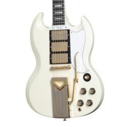 Guitarra Electrica GIBSON SG 1961 Custom VOS Classic White  60th Aniversario Foto: C:QuerryFotos WebGuitarra Electrica GIBSON SG