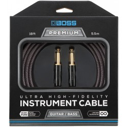 Cable BOSS BIC-P18 Premium Jack-Jack 5,5m Foto: C:QuerryFotos Web\Cable BOSS BIC-P18 Premium Jack-Jack 5,5m-1