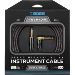 Cable BOSS BIC-P18A Premium Jack-Jack Recto-Codo 5,5m Foto: C:QuerryFotos Web\Cable BOSS BIC-P18A Premium Jack-Jack Recto-Codo 5
