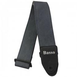 Correa BASSO SF119 Azul Jeans Sintetica Ultra Resistente Foto: C:QuerryFotos Web\Correa BASSO SF119 Azul Jeans Sintetica Ultra R