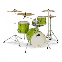 Bateria PDP New Yorker Set Electric Green Sparkle Foto: C:QuerryFotos Web\Bateria PDP New Yorker Set Electric Green Sparkle-1