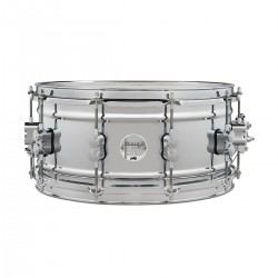 Caja PDP By DW Concept Chrome Over Steel 14x6.5 Foto: C:QuerryFotos Web\Caja PDP By DW SD1465 Concept Chrome Over Steel 14x6
