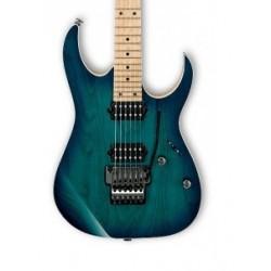 Guitarra Electrica IBANEZ Prestige RG652 AHM Nebula Green Burst Foto: C:QuerryFotos Web\Guitarra Electrica IBANEZ Prestige RG652