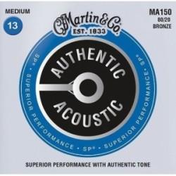 Cuerdas Acustica MARTIN Authentic SP MA150 Bronce (13-56) Foto: C:QuerryFotos Web\Cuerdas Acustica MARTIN Authentic SP MA150 Bro